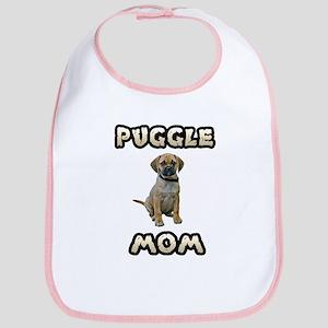 Puggle Mom Bib