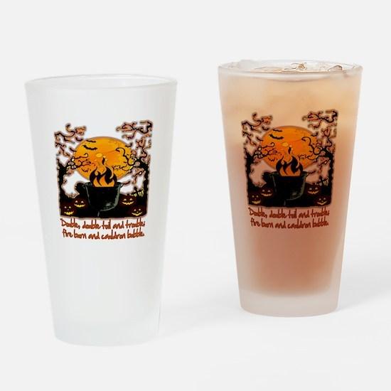 Cauldron Drinking Glass