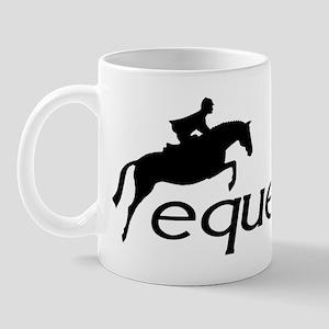 hunter/jumper equestrian Mug