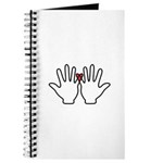 Holding Hands with Heart 2006wht Journal