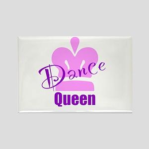 Dance Queen Rectangle Magnet