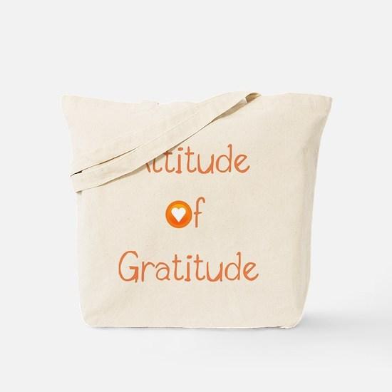 Attitude of Gratitude Tote Bag