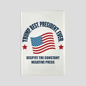 Trump Best Pres Rectangle Magnet