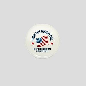 Trump Best Pres Mini Button