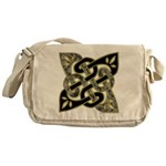 Celtic Dark Sigil Messenger Bag