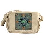 Celtic Eye of the World Messenger Bag