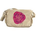 Celtic Rose TriSpiral Messenger Bag