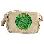 Celtic Triskele Messenger Bag