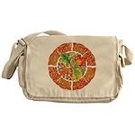 Celtic Autumn Leaves Messenger Bag