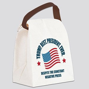 Trump Best Pres Canvas Lunch Bag