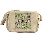 Celtic Puzzle Square Messenger Bag