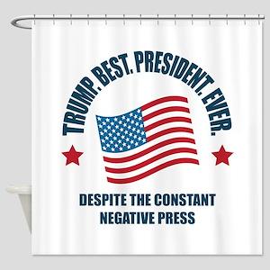 Trump Best Pres Shower Curtain