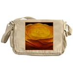 Yellow Ranunculus Messenger Bag
