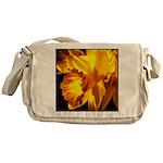 Yellow Daffodil Messenger Bag