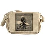 Stone Cherub Messenger Bag