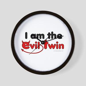 I am the Evil Twin Wall Clock