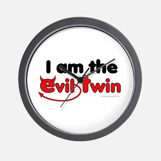 I am the Evil Twin Wall Clock