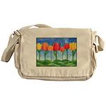 Tulip Trees Messenger Bag