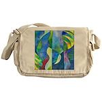Jungle River Messenger Bag