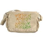 Abstract Arabic Messenger Bag
