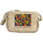 Color Shards Messenger Bag