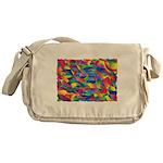 Cosmic Ribbons Messenger Bag