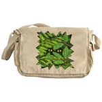 Through the Leaves Watercolor Messenger Bag