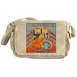 Tea for Me (Cat) Messenger Bag