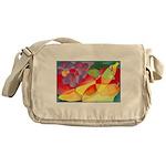 Fruit Watercolor Messenger Bag