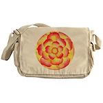 Flametip Flower Messenger Bag