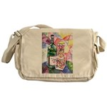 Wine and Candy Messenger Bag