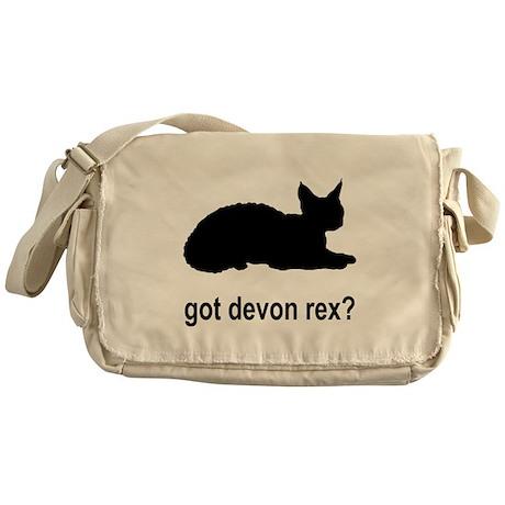 Got Devon Rex? Messenger Bag