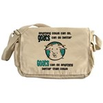 Goats can do Better Messenger Bag