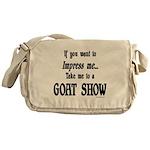 Goat Show Messenger Bag