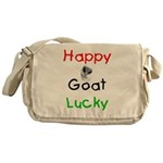 Happy Goat Lucky Messenger Bag
