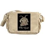 Old Goat Birthday 4 Her Messenger Bag