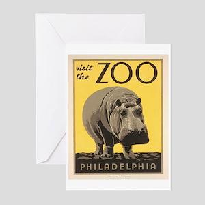 Philadelphia Zoo Greeting Cards (Pk of 10)