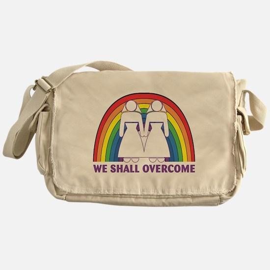 We Shall Overcome (Female) Messenger Bag