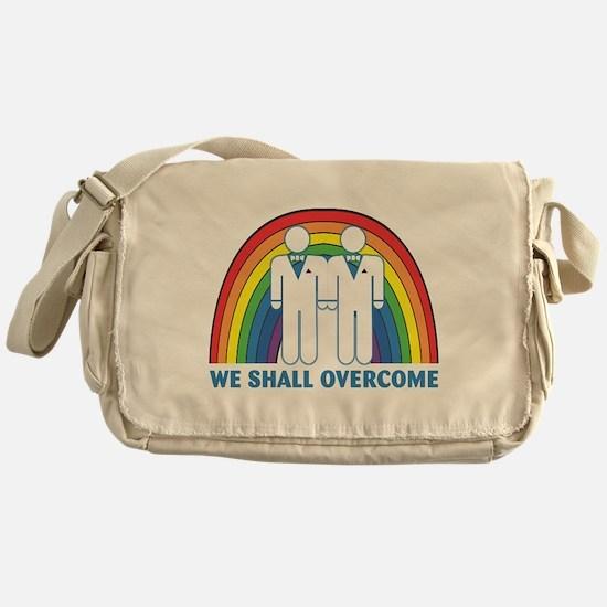 We Shall Overcome (Male) Messenger Bag