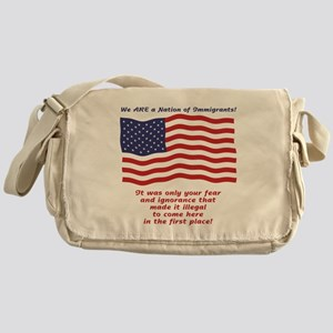Fear and Ignorance Made It Il Messenger Bag