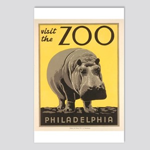 Philadelphia Zoo Postcards (Package of 8)