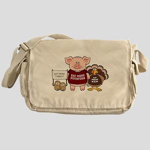 Holiday Dinner Campaign Messenger Bag
