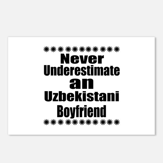 Never Underestimate An Uz Postcards (Package of 8)