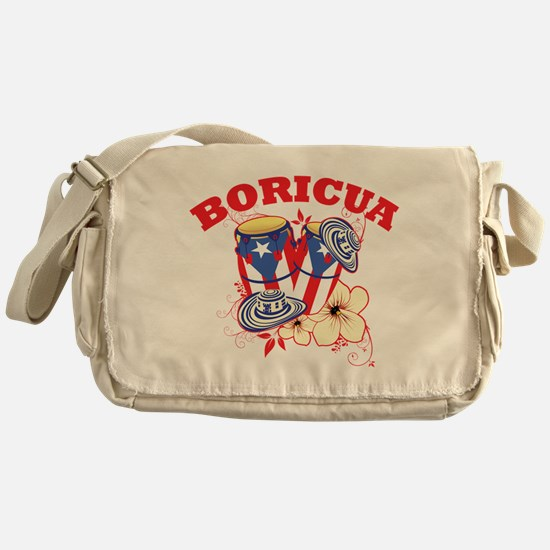 Puerto Rican Congas Messenger Bag