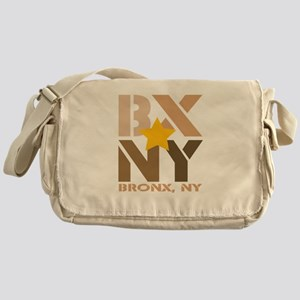BX, Bronx Brown Messenger Bag
