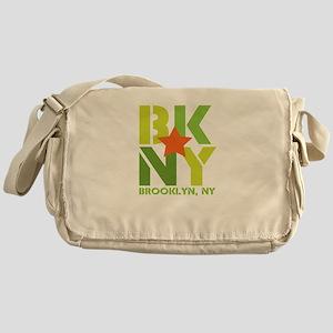 BK Brooklyn, NY Messenger Bag