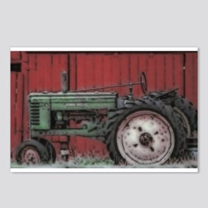 Farm Tractor Postcards (Package of 8)