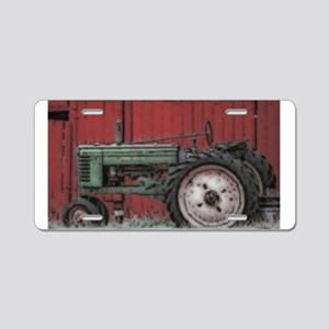 Farm Tractor Aluminum License Plate