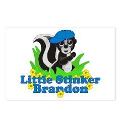 Little Stinker Brandon Postcards (Package of 8)