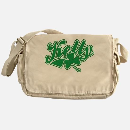 Kelly Irish Shamrock Messenger Bag